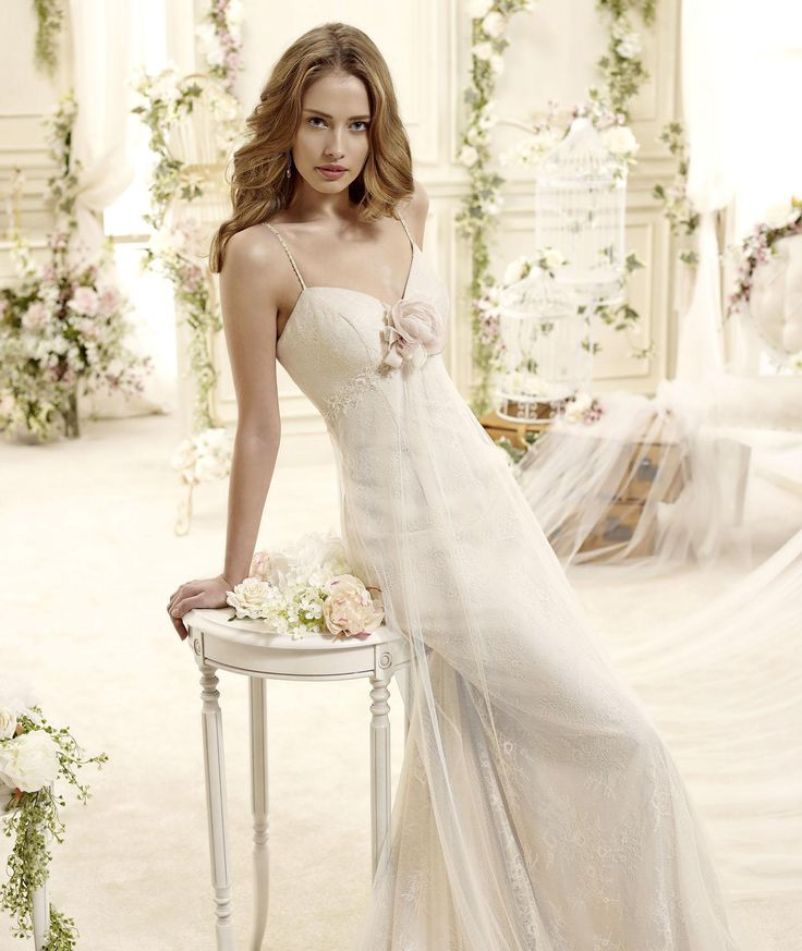 #Colet #2015Collection #weddingdress #nicolespose Abito da Sposa Nicole - Collezione COLET EBONY 2015 ► http://www.nicolespose.it/it/abito-da-sposa-Colet-Ebony-COAB15281CH-2015