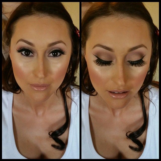 My gorgeous bride from today. Subtle earthy colors on the lid with heavy liner and double stacked lashes.  Plenty of contour and highlight and liquid lips by  @anastasiabeverlyhills to top it off #glambysahar #makeupbysahar #weddingmakeup #beautifulbride #bride #wedding #doublestackedlashes #inglot #mac #tomford #nars #anastasiabeverlyhills
