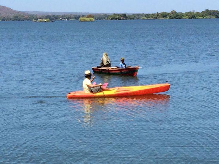 Lago Nicaragua (Cocibolca) #kayak #paraiso #viajes