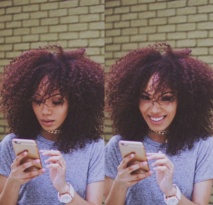 17 best ideas about burgundy natural hair on pinterest