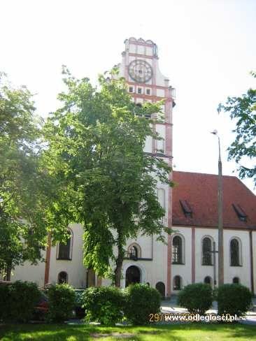 Kościół p.w. Niepokalanego Poczęcia NMP i św. Wojciecha - Nidzica