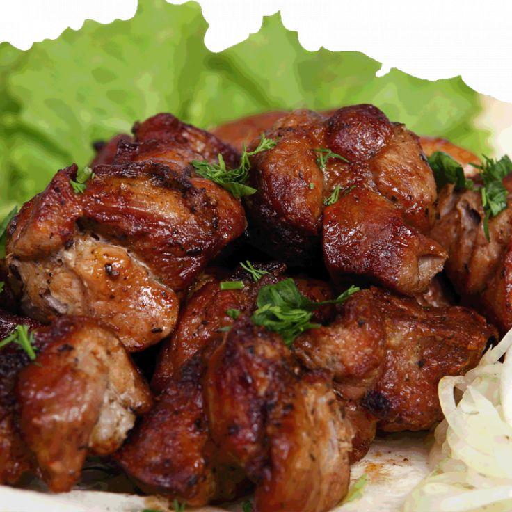 Шашлык по-карски из свинины
