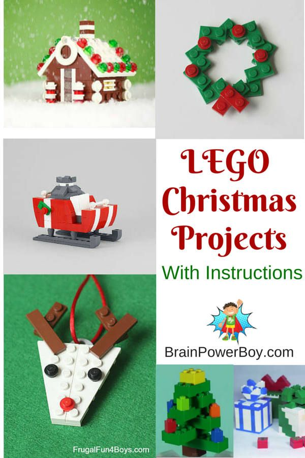 Try some of these super fun LEGO Christmas Projects. Includes instructions, videos and some very neat builds to get your boys doing some LEGO learning.