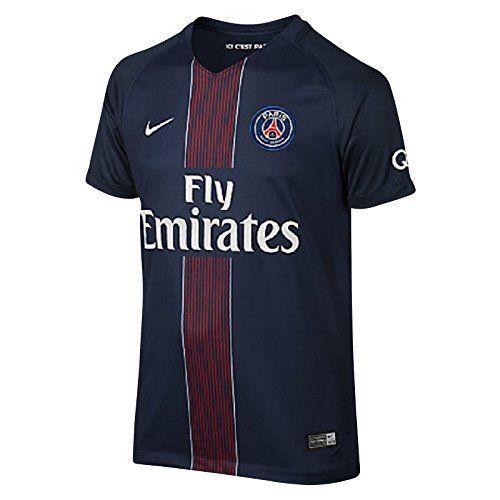 Nike 2016/2017 Psg Stadium Home Maillot Enfant: VOTRE CLUB. VOS COULEURS. 2016 de football shirt/17 garons-Paris Saint-Germain stade maison…