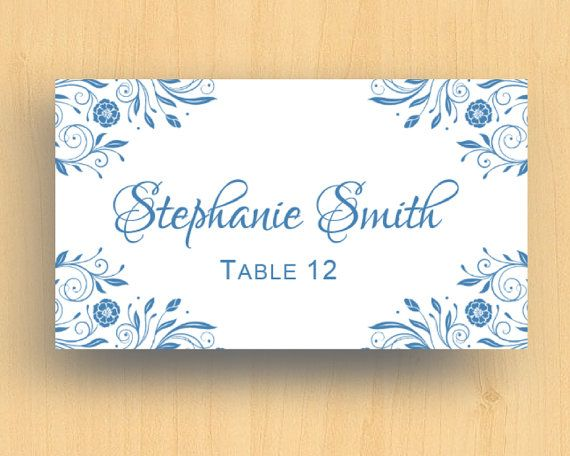 Blue transparent background floral corner 3.5x2 by Inkpower