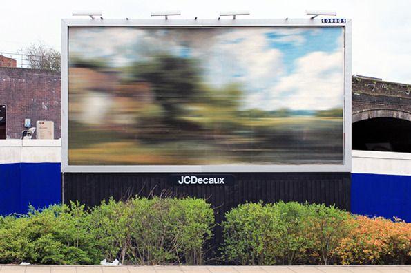 Ben Long's brilliant blurred billboards on show in BirminghamBlur Billboard, Landscapes Billboard, Long Motionblur, Creative Stuff, Art, Moving Landscapes, Ben Long, Motion Blur, Motionblur 19Th