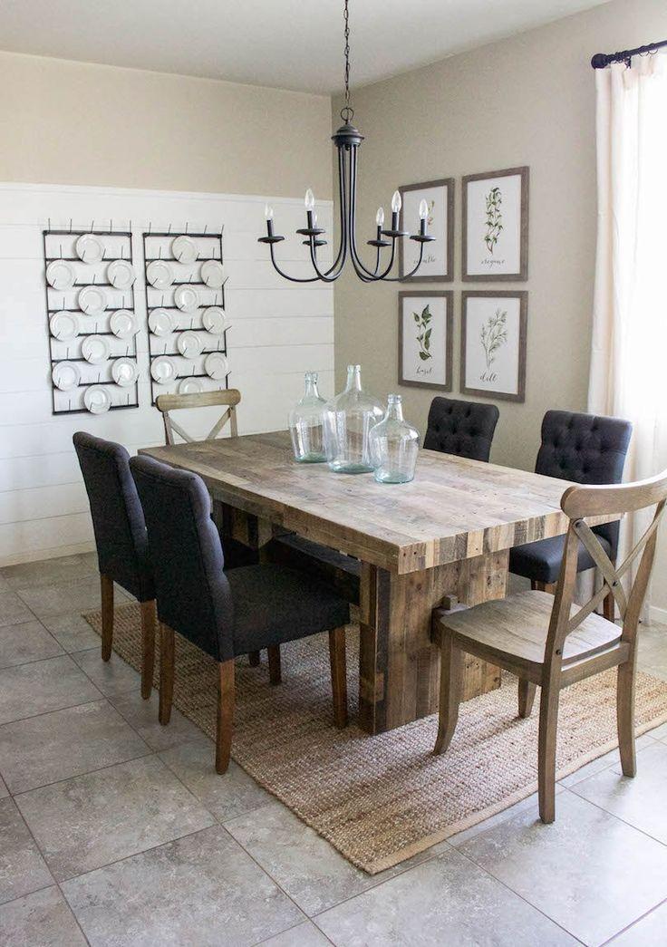 426 besten home | modern farmhouse bilder auf pinterest, Esstisch ideennn