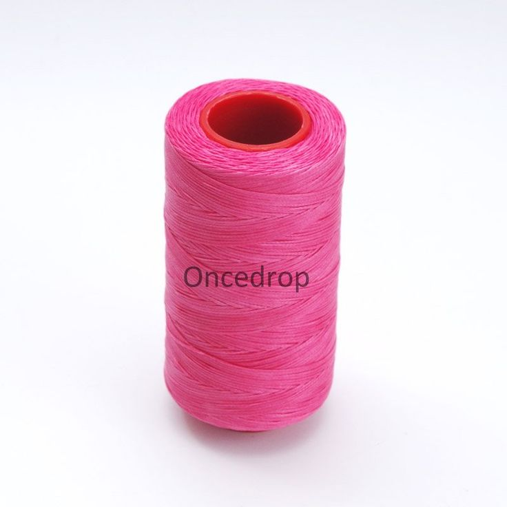 Peachblow  250 Meter 1mm Waxed Wax Thread Cord Sewing Craft for DIY Leather Hand Stitching 10
