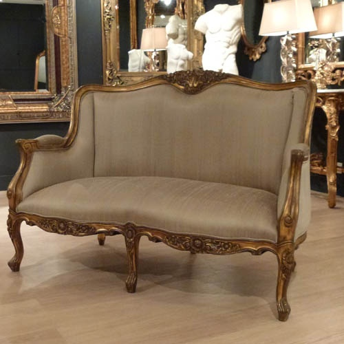 Gold Versailles French 2 Seater Sofa : Beau Decor