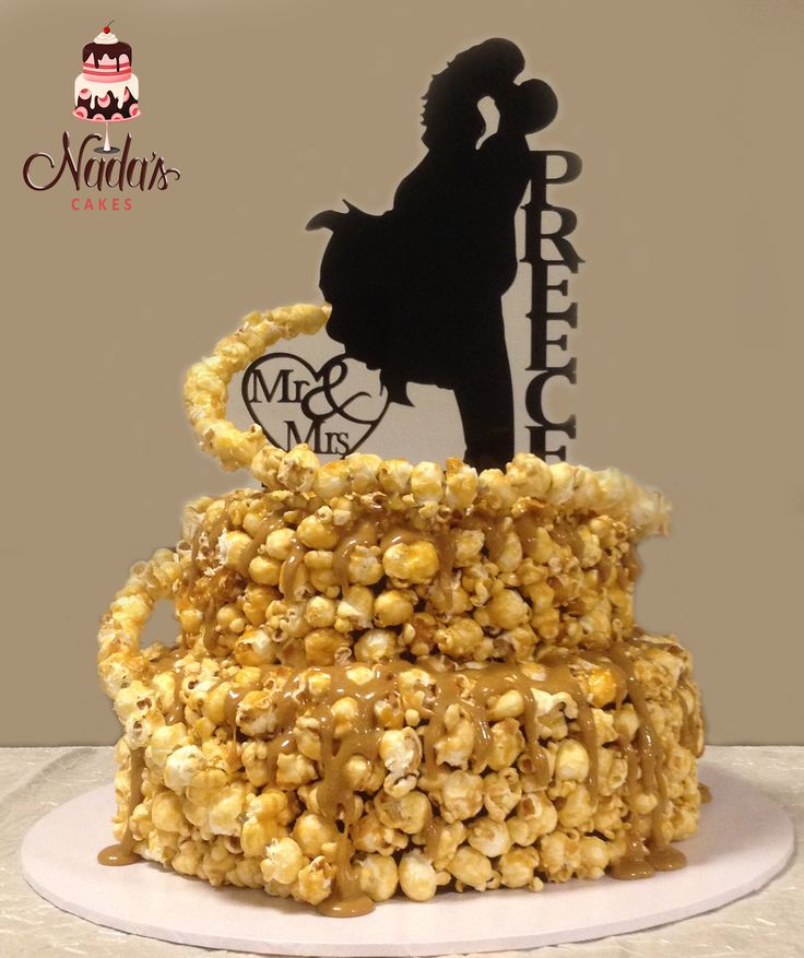 wedding cake popcorn 104 best special occasion cakes images on 23519