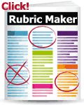 RUBRIC: From teacher resources document. Rubric Maker. This takes you directly to a page that tells how rubrics can be used in Elementary school. It tells how you can use it to assess the students on basic skills they need to develop like listening.