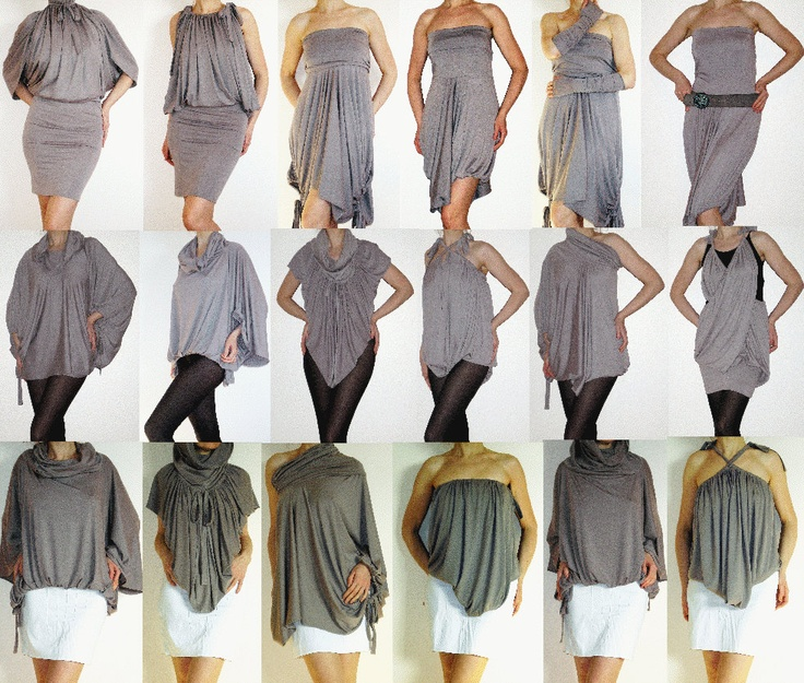 Convertible Wrap Infinity Multi - way dress  (more than 12 ways to wear)