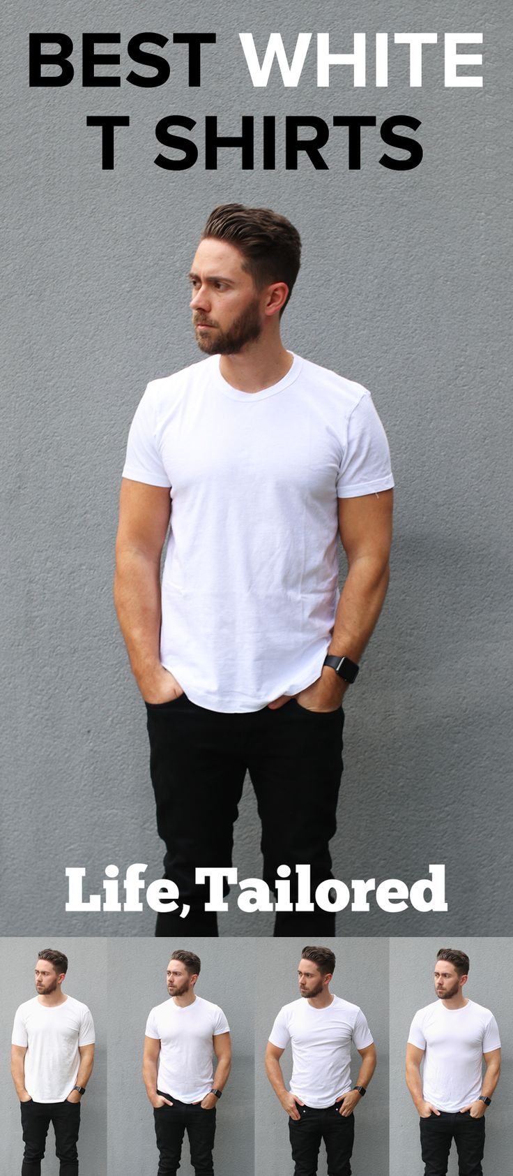 Best White T Shirt Men: I Tried Out 10 Different W T-Shirts And Here Are The Absolute Best