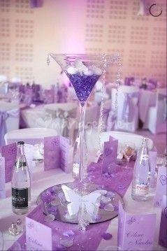 Vase Martini mariage de Fée de l'effet | Photo 41