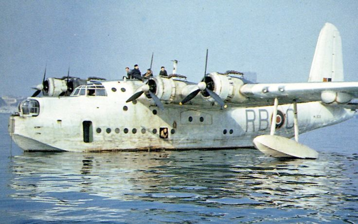 Short  Sunderland Plymouth 1945