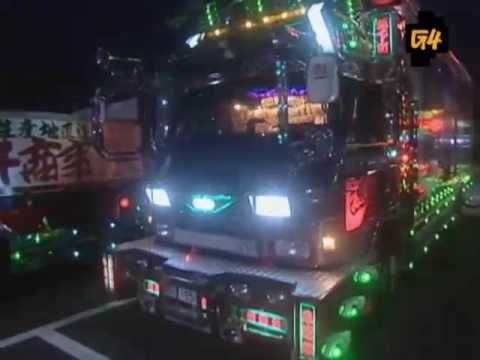 ▶ Dekotora Trucks in Japan - YouTube