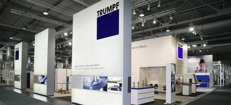 pictures of kitchen decorating ideas trumpf at triad berlin trade show booths 25464
