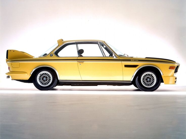 1972 BMW 3 0 CSL UK-spec (E-9) cla