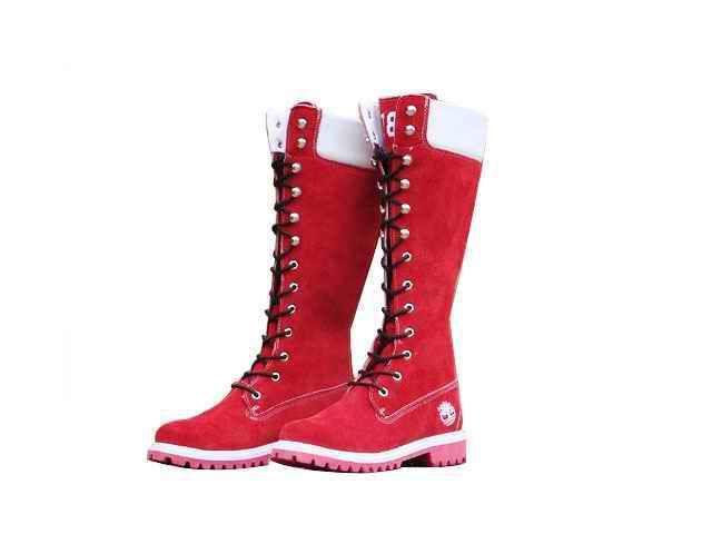 Mujer 14 Inch Timberland Botas Red [Timberland Boots UK-661] - €95.65 : toma de Timberland, timberlandproof.com