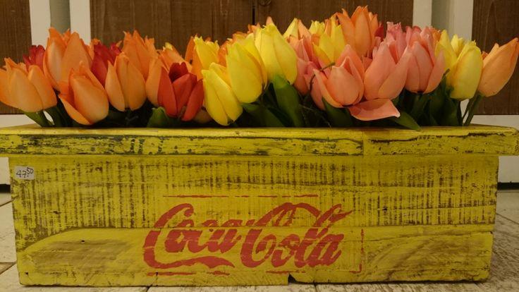 Tulpen in kistje | VIA CANNELLA KINDERWINKEL | CUIJK