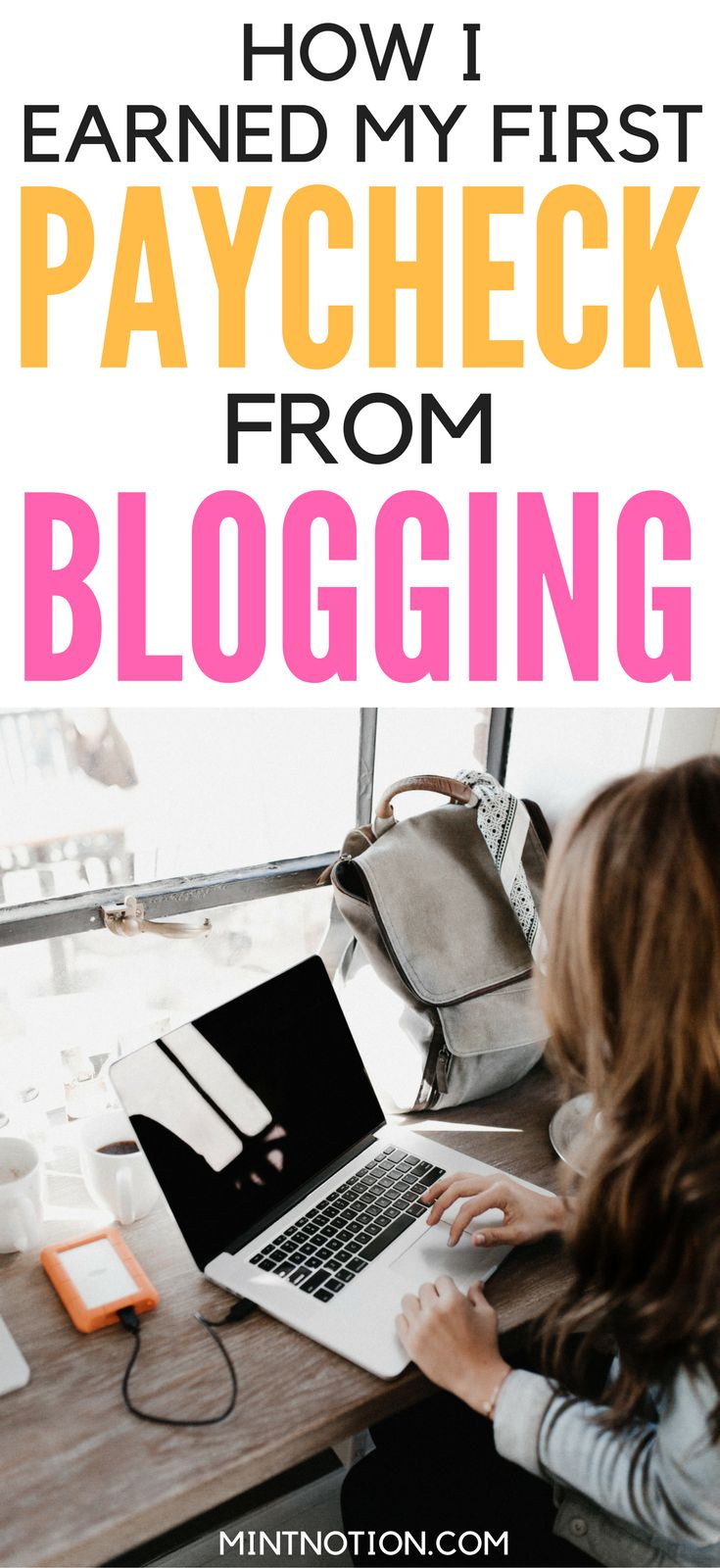 My first blog income report. How I make MONEY from blogging. These blogging tips are great for beginners. Learn how to start a blog and make money from home. Blog Income Report