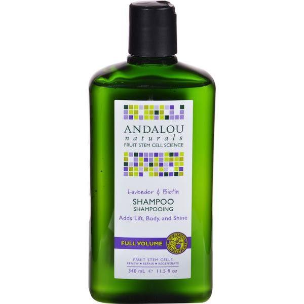 Andalou Naturals Full Volume Shampoo - Lavender and Biotin - 11.5 fl oz