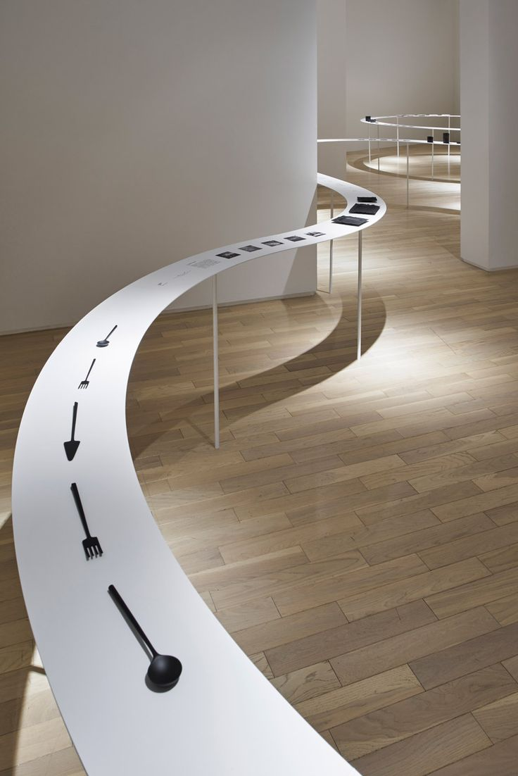 Exhibition Display Table : Colourful shadows by nendo exhibitions pinterest