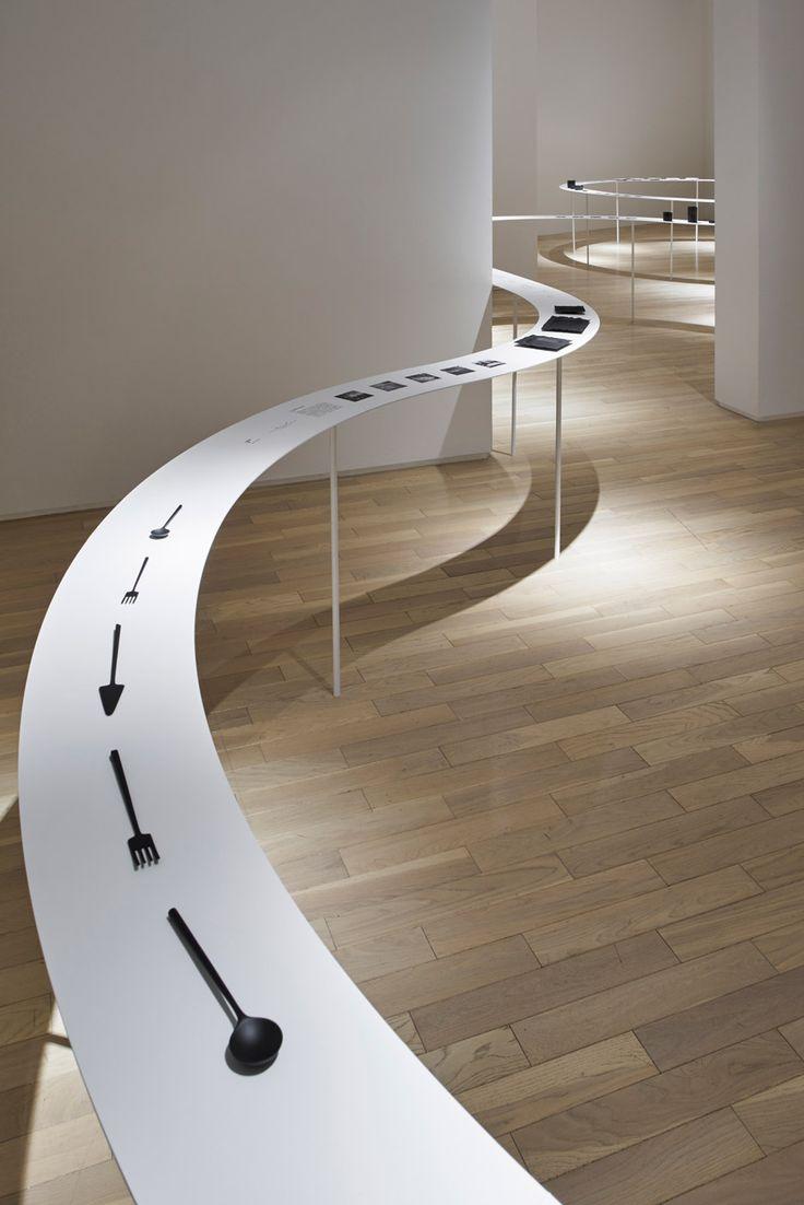 D Coform Exhibition : Colourful shadows by nendo exhibitions pinterest