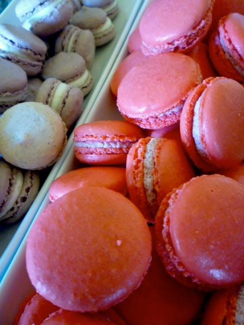 French Macarons are just beyond compare. Tricky to make, sumptuous to eat - a real indulgence.