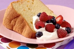 Easy simple angel food cake recipe!
