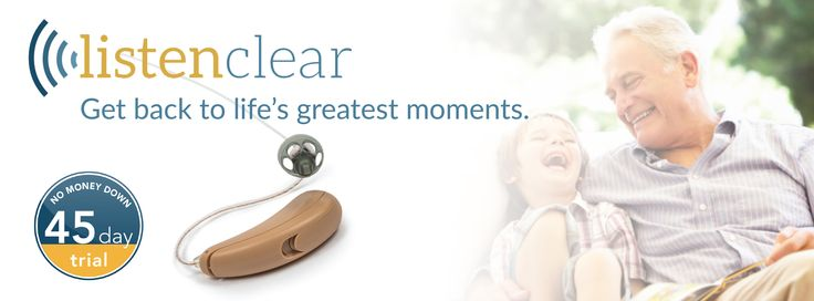 The latest hearing technology at a fraction of the cost. Start a 45 day FREE trial now! 888-895-1162
