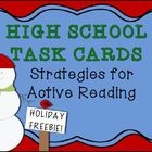 Active Reading Task Cards and PrintableUse Task Cards for DifferentiationUpload the cards' PDF to your classroom webpage. Encourage parents to...