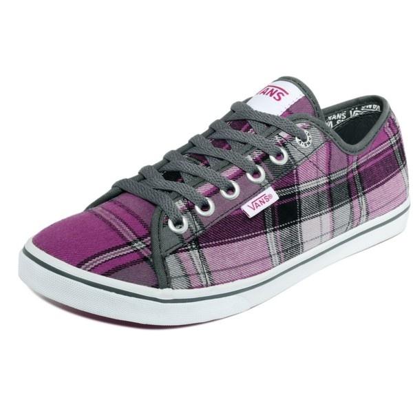 Vans Women's Shoes, Ferris Lo Pro Sneakers - Ooh, I like plaid.