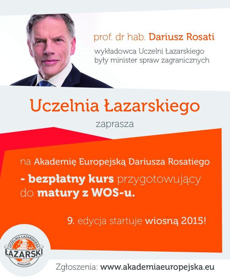 #akademiaeuropejska #akademia #lazarski #rosati