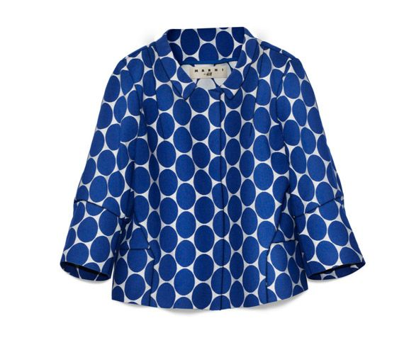 marni for H&M: H M Jackets, Fashion, Style, Color, H&M, Blue Dots, Complete Marni, Dots Jackets, Blue Polka Dots
