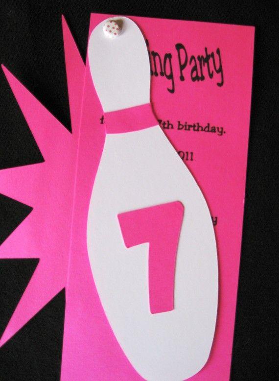 Diese markante Bowling-Party-Einladungen werden Sie über Schüssel! * Einladungen zu messen 5 x 7 * weiße Umschläge enthalten * Party-Informationen für Sie ausgedruckt werden * Made in jeder gewünschten Farbe * benötigen mehr als 8 Einladungen? Convo mich für Rahmeninformationen.