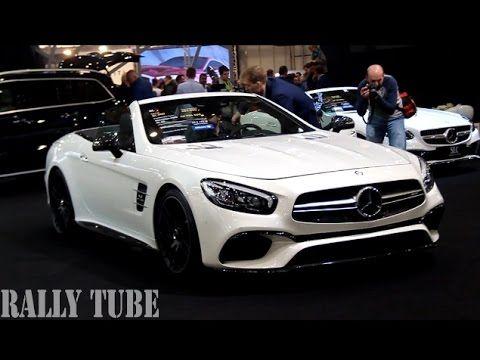new car models Mercedes - SL, S Cabrio, SLC, GLS - YouTube