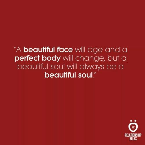 Looks fade..but having a beautiful constructive soul does not..