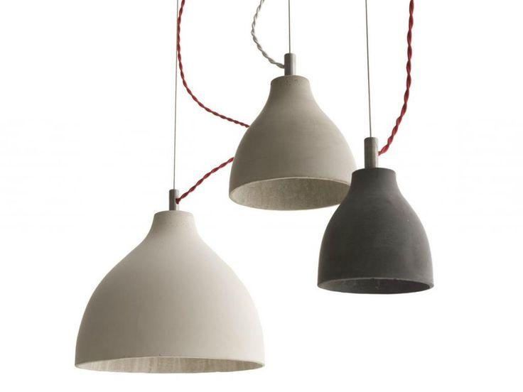 Risultati immagini per lampade a sospensione cemento