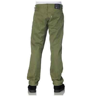 NEW LEVIS 514 STRAIGHT FIT OLIVE GREEN JEANS MENS 29 X 32 00514 0454 #969