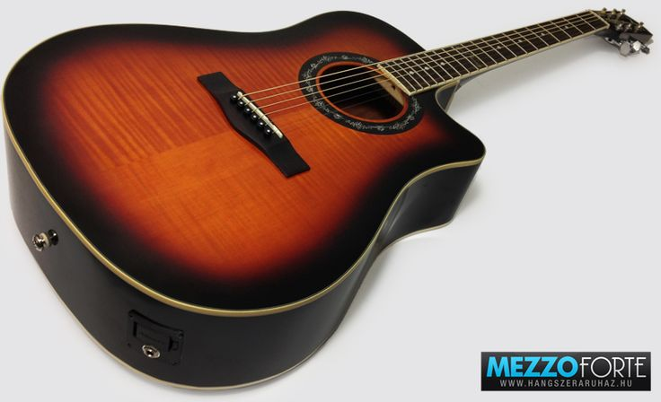 Fender T-bucket 300CE RW, 3-Color Sunburst, Flame Maple