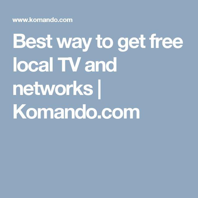 Best way to get free local TV and networks | Komando.com