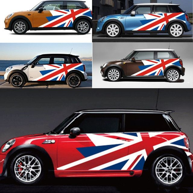 Classic Whole Roof Graphics Decor Stickers Decal For Mini Cooper 1 Gen R50