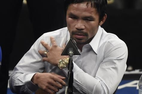 Manny Pacquiao maintient ses propos homophobes: «C'est dans la Bible» - soirmag.be
