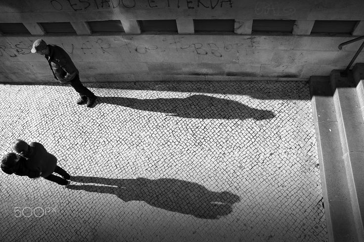 Shadows - Coimbra, Portugal