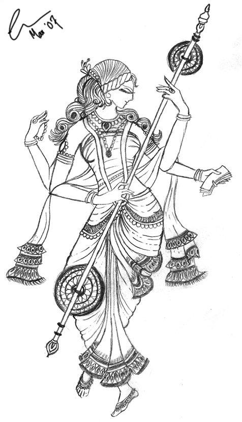 Google Afbeeldingen resultaat voor http://www.deviantart.com/download/55704458/Saraswati_by_Medea_Dracena.png