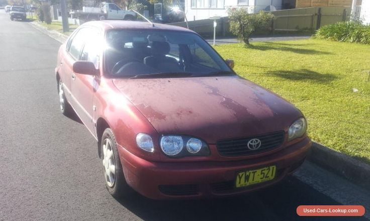 2001 Toyota Corolla #toyota #corolla #forsale #australia