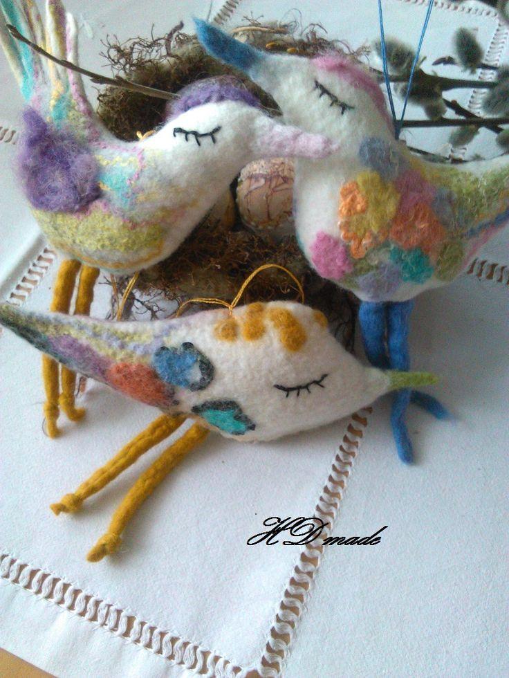 vtáčiky - poslovia jari
