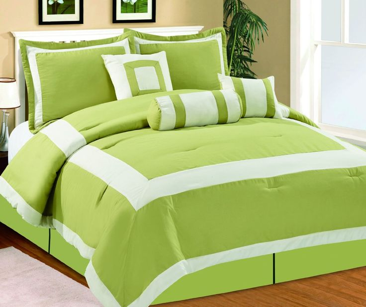 Best 25+ Lime green bedding ideas on Pinterest | Lime ...