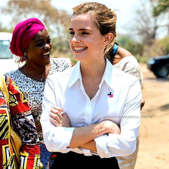 Emma Watson in Malawi [October 10, 2016] Couldn't she have gone on July whilst we were there?? Jess